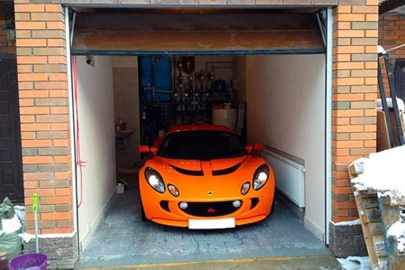 Отапливаемый гараж своими руками