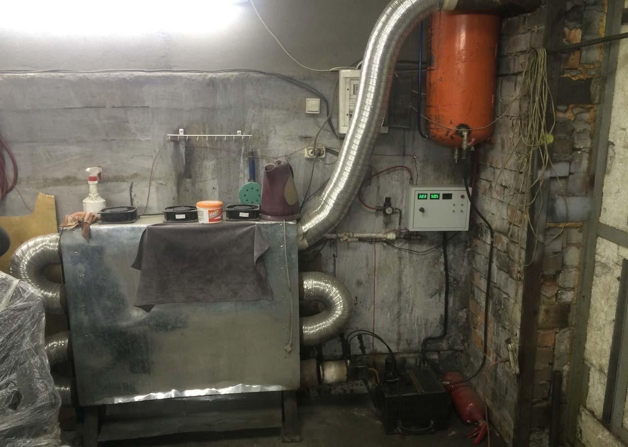 Печь в гараже своими руками фото 28
